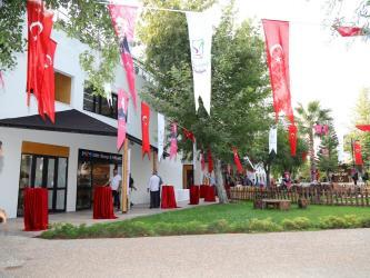 Manavgat Kent Müzesi törenle açıldı