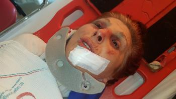 Maskeli 2 soyguncu yaşlı kadına kabusu yaşattı