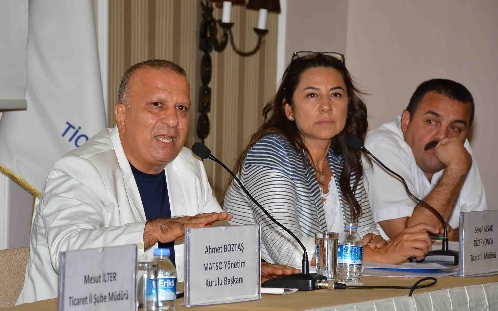 MATSO üyelerine mesleki yeterlilik belge semineri