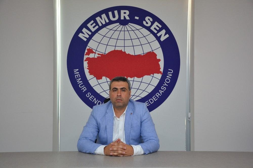 Memur Sen Antalya Temsilcisi Mustafa Çoban: