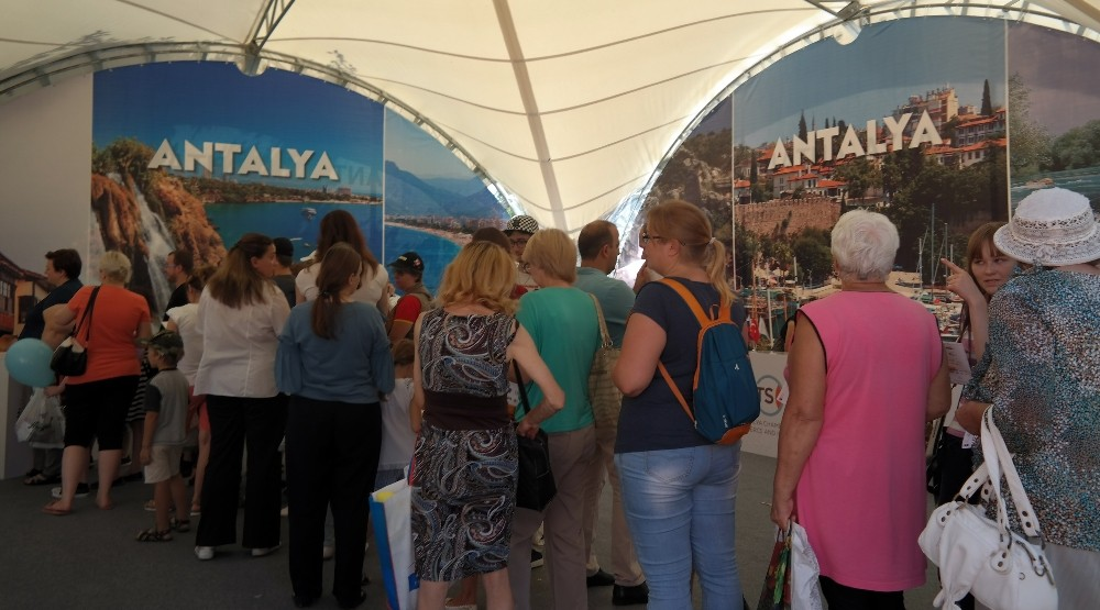 Moskova'da Türk Festivali başladı