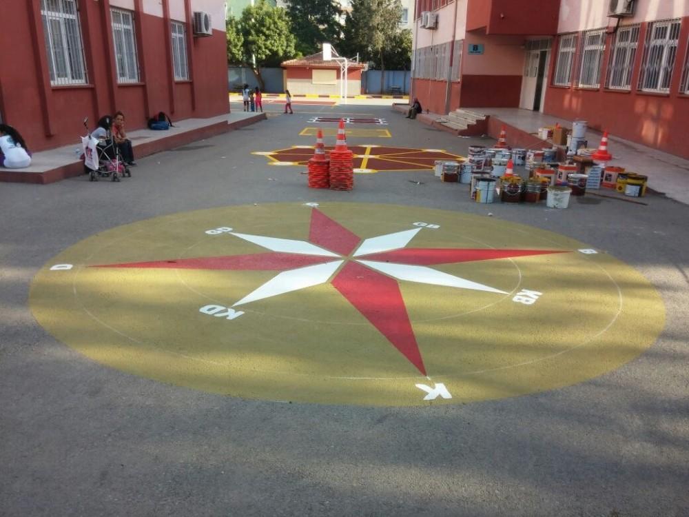 Muratpaşa'dan okullara destek