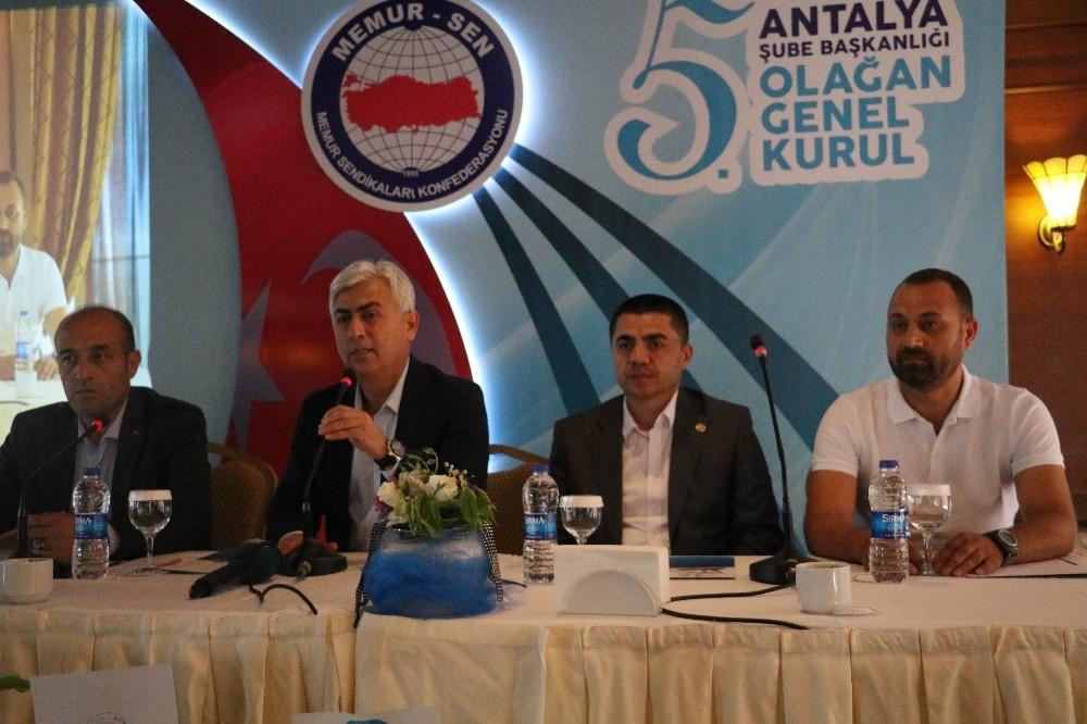 Sağlık-Sen Antalya Şubesi'nin 5.Olağan Genel Kurul Toplantısı