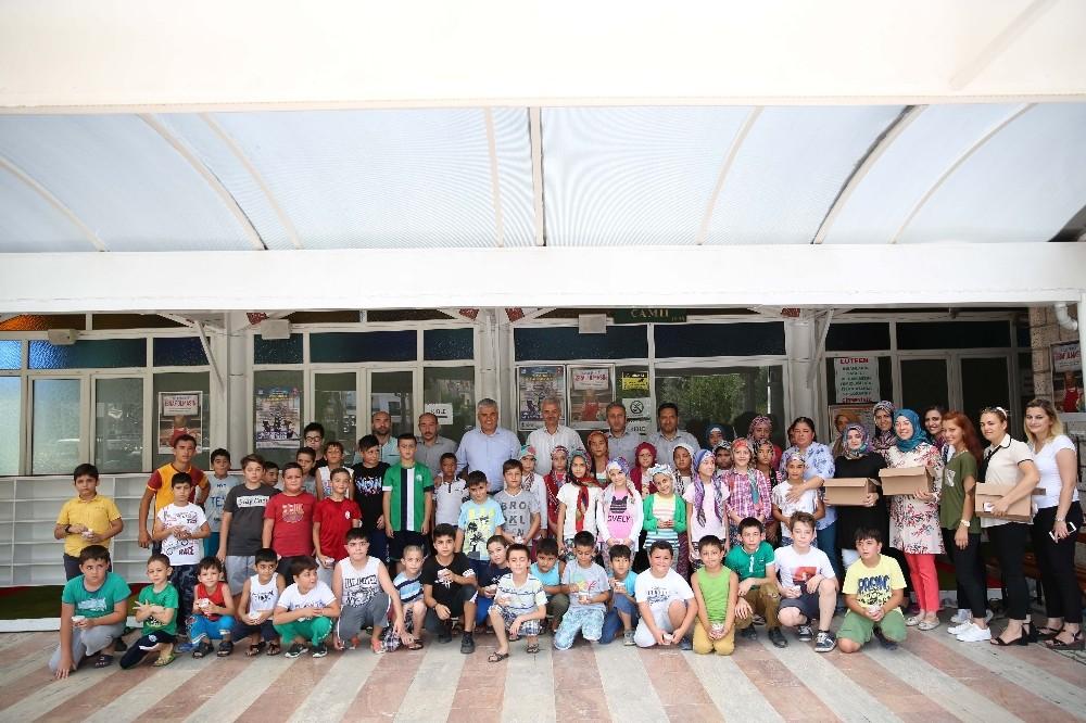 Serik'te Kur'an-ı Kerim Kursu öğrencileri eğlenerek öğreniyor