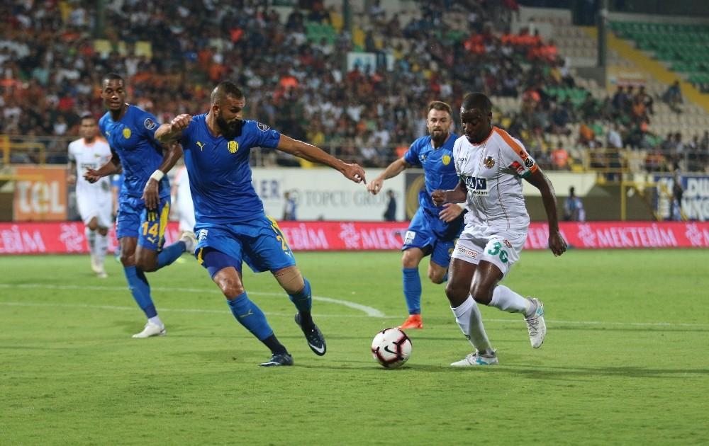 Spor Toto Süper Lig: Aytemiz Alanyaspor: 0 – MKE Ankaragücü: 2 (Maç sonucu)