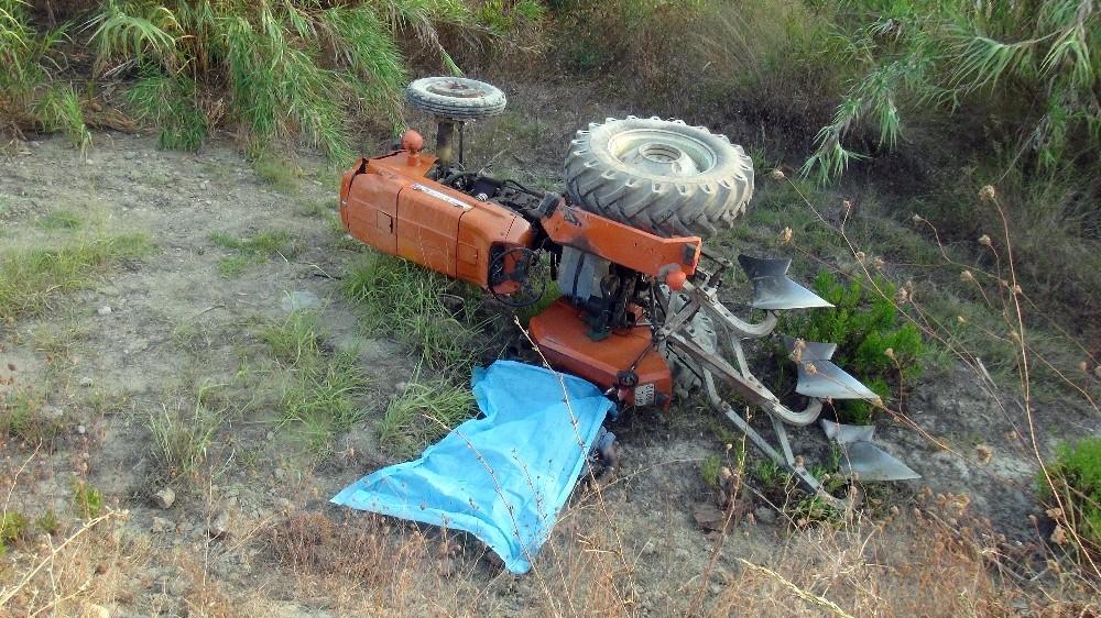 Tarla sürerken traktör devrildi, yaşlı adam hayatını kaybetti