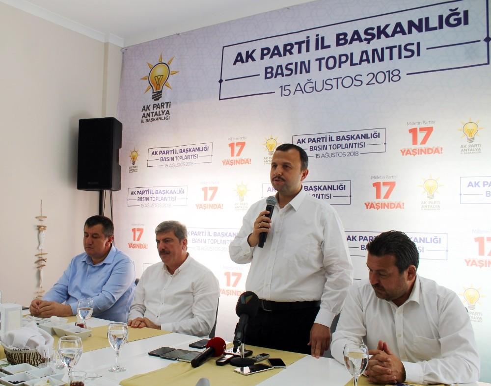 """Taş: """"Muratpaşa 2019 inşallah bizde olacak"""""""