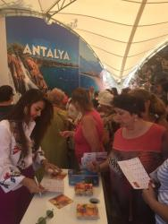 Türkiye Festivali'nde Antalya'ya Yoğun İlgi