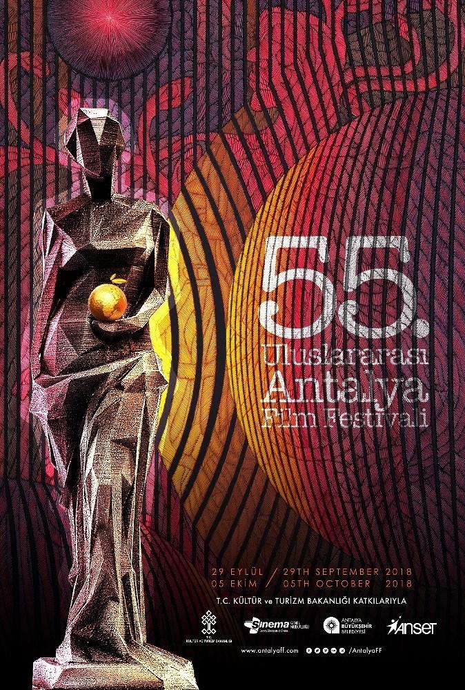 Uluslararası Antalya Film Festivali için iki afiş kullanılacak