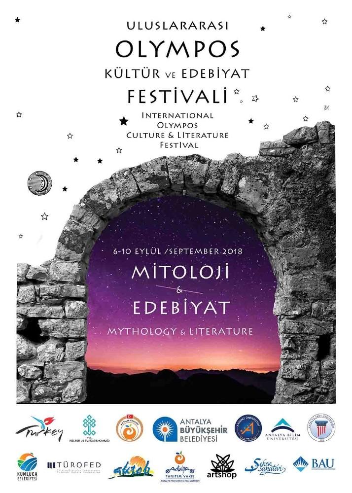 Uluslararası Kültür ve Edebiyat Festivali Olympos'da