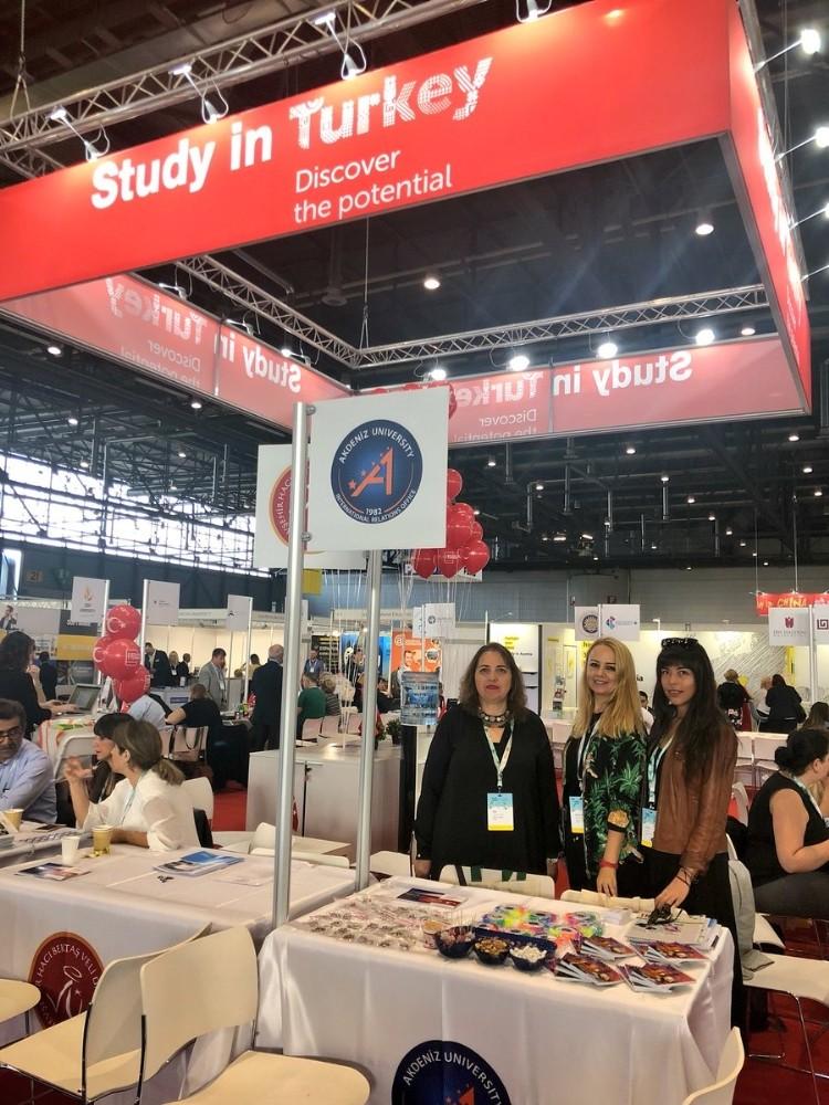 Akdeniz Üniversitesi Avrupa'nın en büyük uluslararası eğitim fuarında