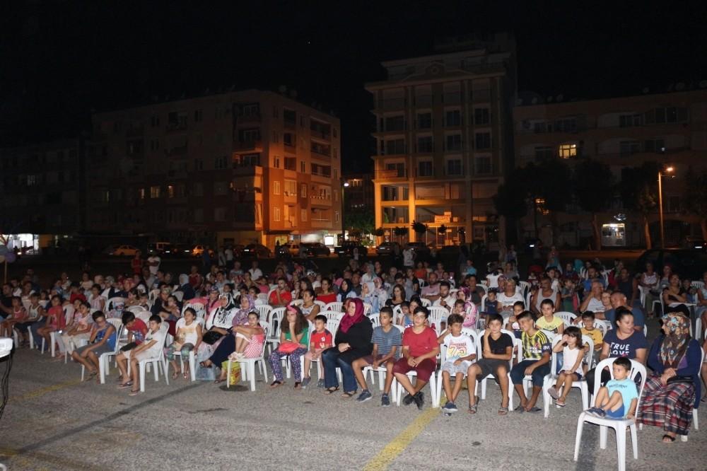 Alanya ve Gazipaşa'da Açık hava sinema keyfi