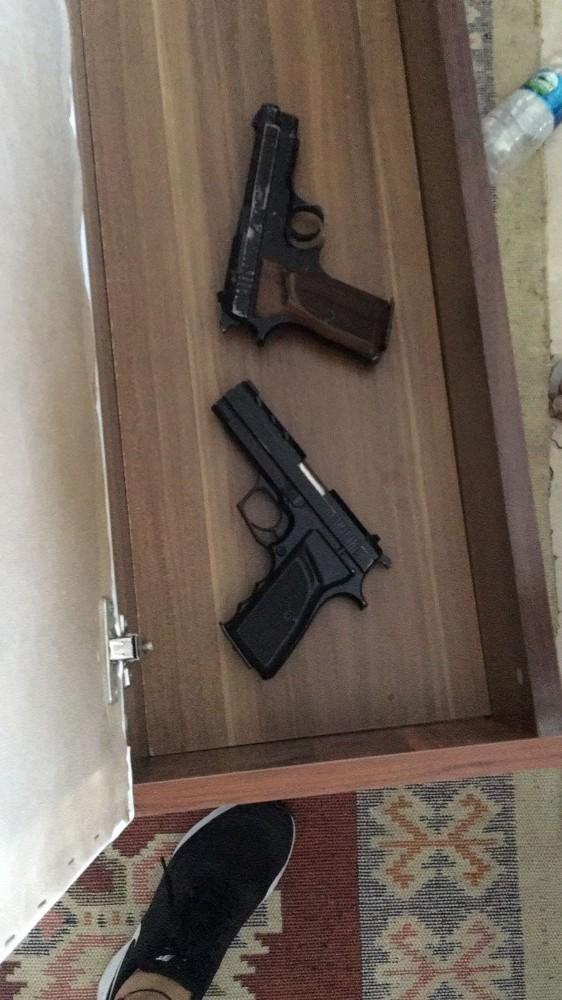 Alanya'da silahlı suç örgütü operasyonu: 8 gözaltı