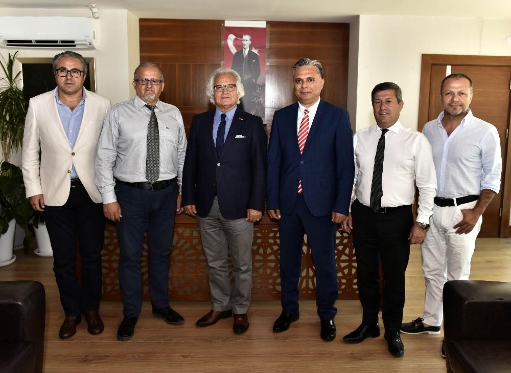ANSİAD Başkanı Kan, Uysal'ı ağırladı