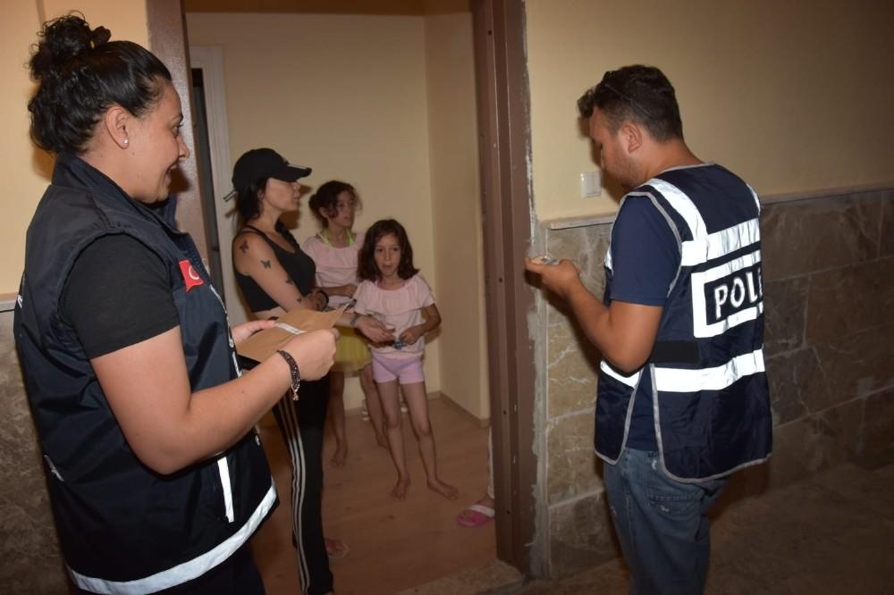 Antalya polisininden günübirlik tesis denetimi