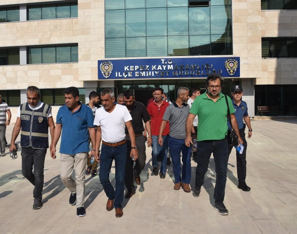 Antalya'da aranan 70 şüpheli yakalandı