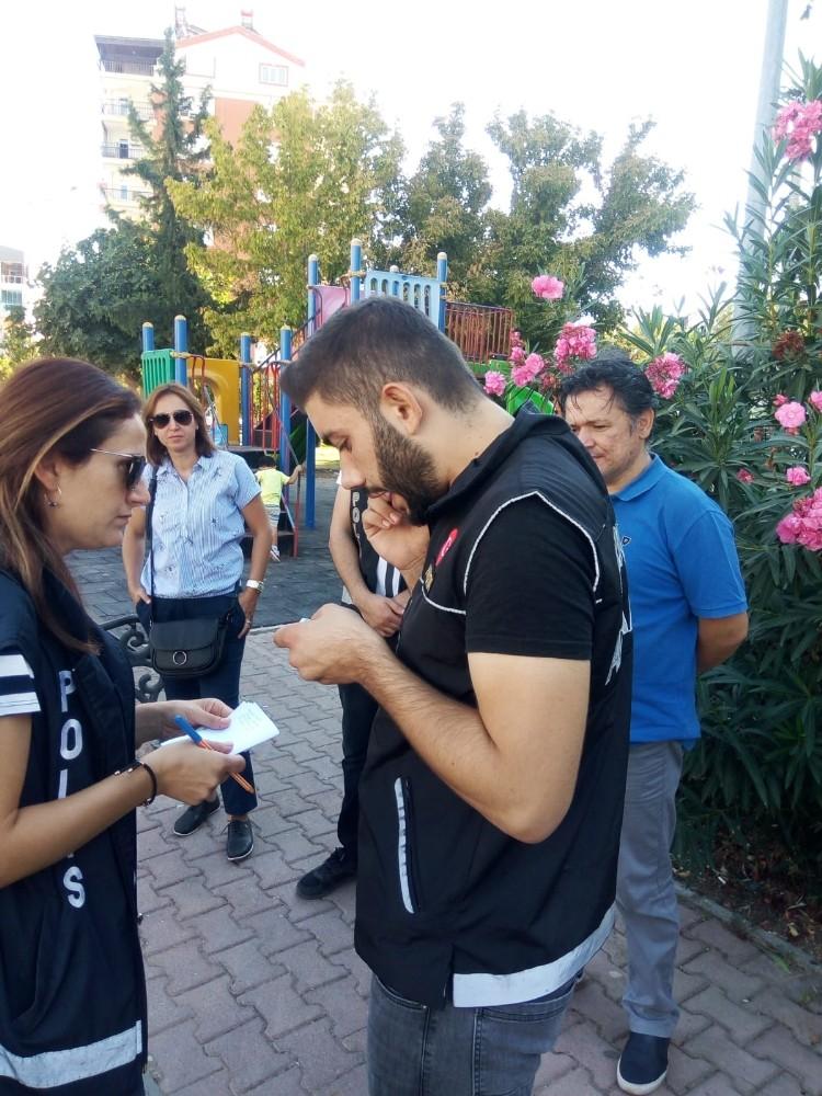"""Antalya'da """"Çocukların Korunmasına Yönelik Denetim Uygulaması"""""""