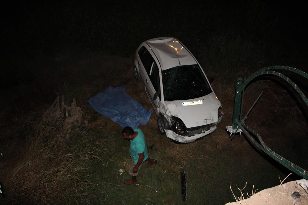 Antalya'da trafik kazası: 1 ölü