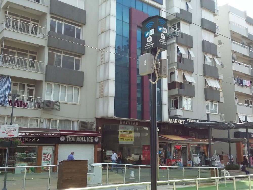 Antalya'da ücretsiz internet kullanım sayısı 300 bine ulaştı