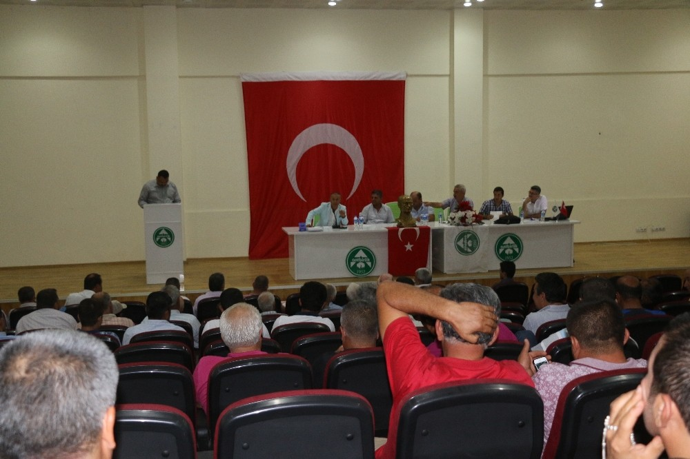 """Antbirlik Yönetim Kurulu Başkanı Mustafa Yavuz: """"Pamuk 5 lira olsun istiyorum"""""""