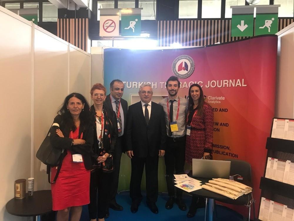 Avrupa Solunum Derneğinin yıllık kongresi Paris'te yapıldı