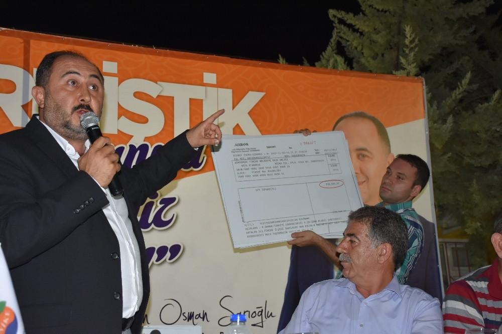"""Başkan Sarıoğlu: """"Aralık ayında 300 parsel tapularını dağıtacağız"""""""