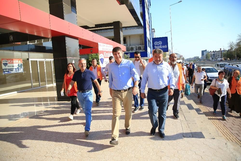 Başkan Türel'den esnafa teşekkür ziyareti