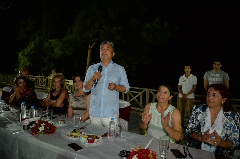 Başkan Uysal, Kooperatiflerle akşam yemeğinde buluştu