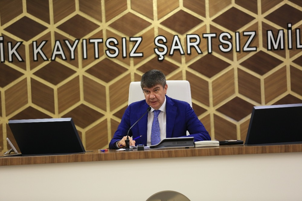 Büyükşehir Belediyesi Meclisi toplantısı