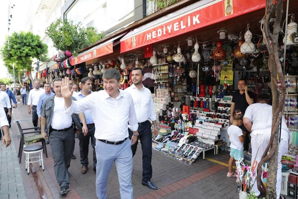 Büyükşehir belediyesinden Alanya'ya 704 milyon liralık yatırım