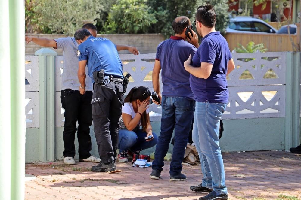 Caminin kadınlar tuvaletinden gelen sesler polisi alarma geçirdi