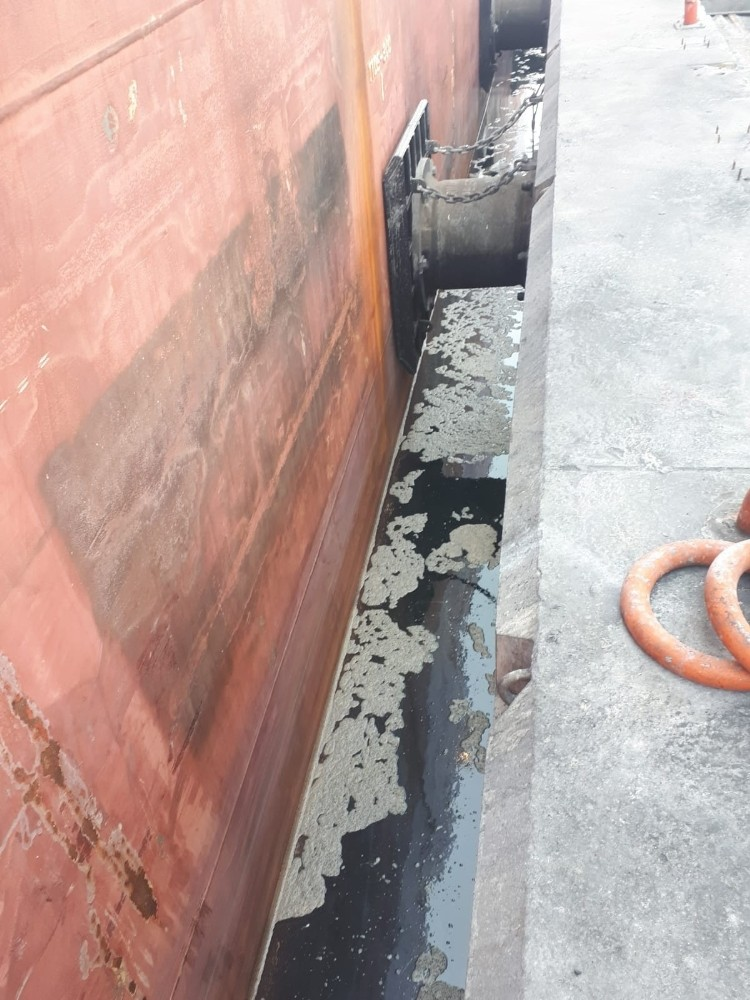 Deniz kirliliğine neden olan iki gemiye 221 bin 884 TL para cezası uygulandı