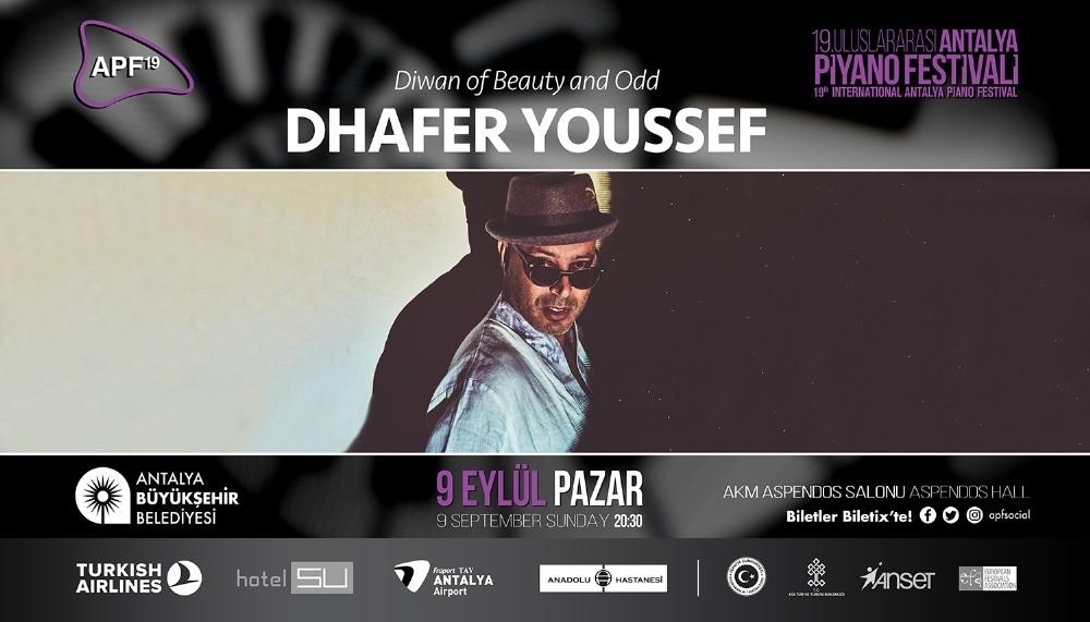 Dhafer Youssef, festivalin kapanış sahnesinde