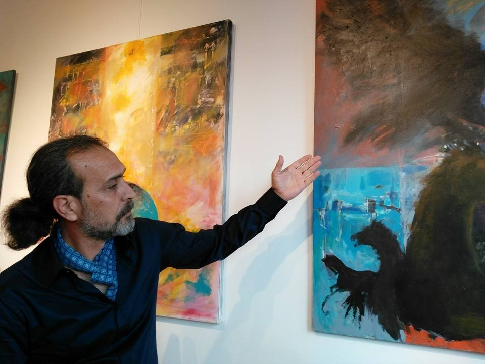 'Dört Renk Dört Yön' sergisi sanatseverlerle buluştu