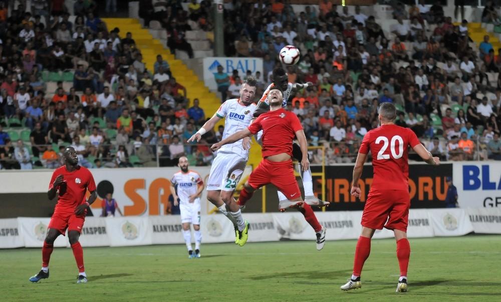 Hazırlık maçı: Aytemiz Alanyaspor: 1 – Antalyaspor: 1