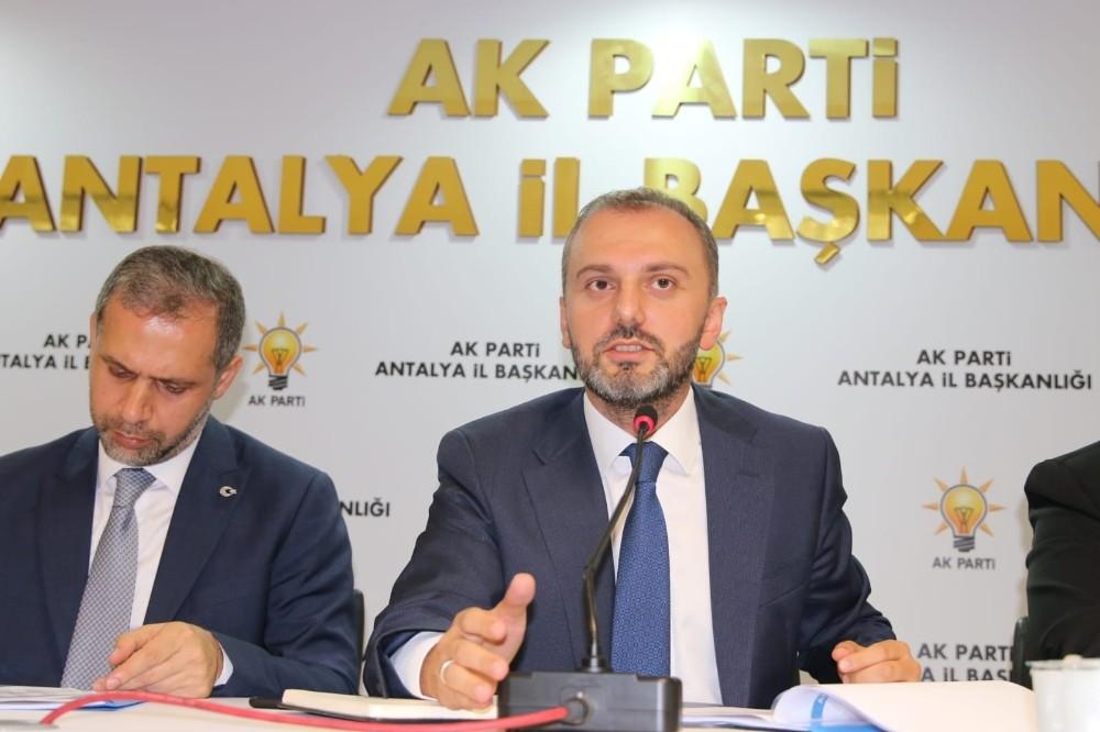 İlk ziyaret Antalya'ya