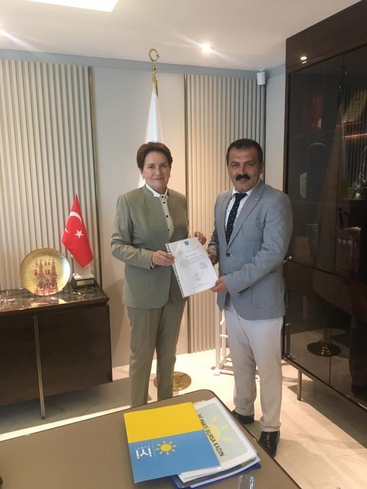 İYİ Parti Antalya İl Başkanı Belli oldu