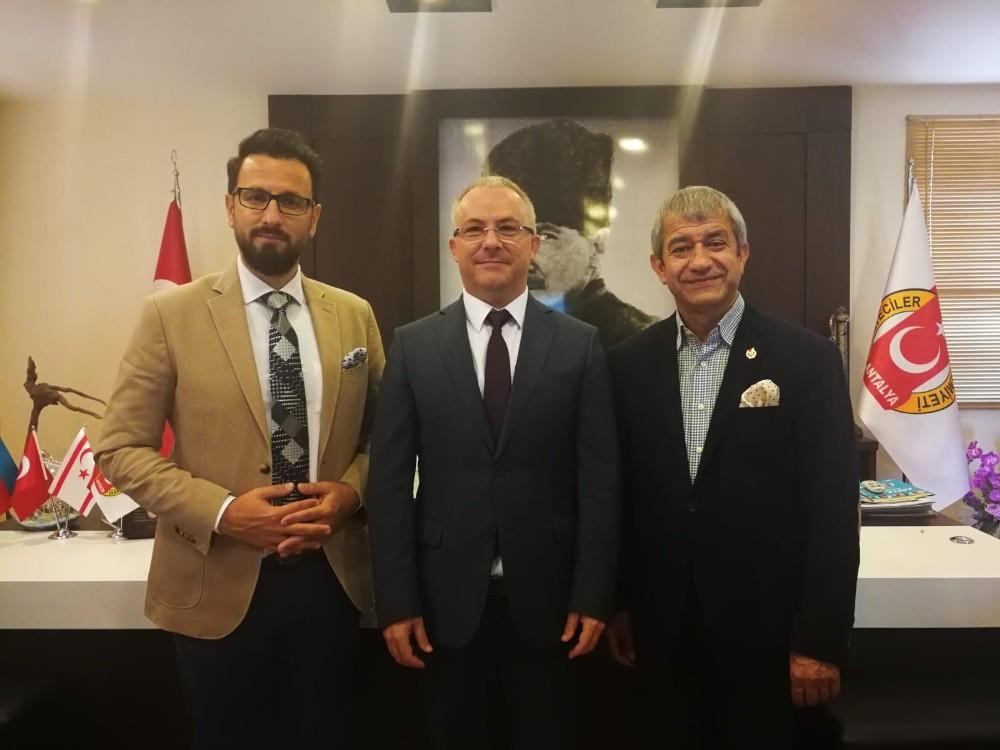 KKTC'nin Antalya Başkonsolosu ve Turizm Temsilcisinden AGC'ye ziyaret
