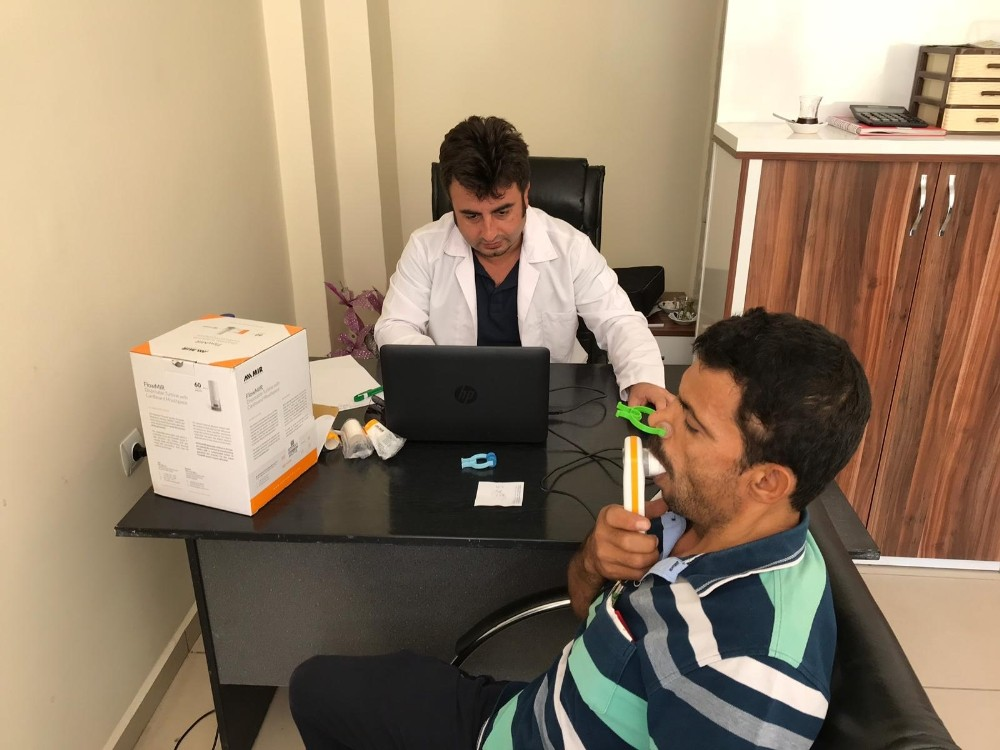 Kumluca'da üreticilere ücretsiz sağlık taraması