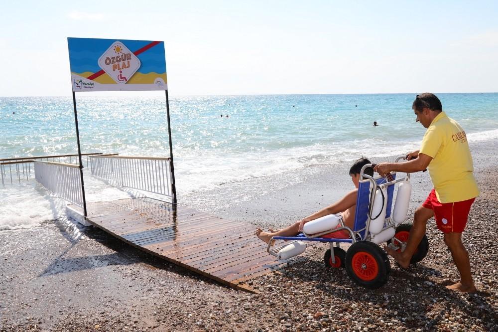Manavgat Belediyesi'nden 2. özgür plaj