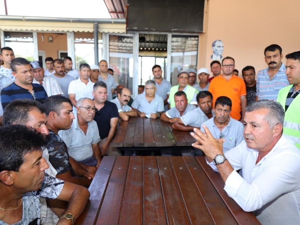 Manavgat Belediyesi'nden işçi çıkarma iddiası
