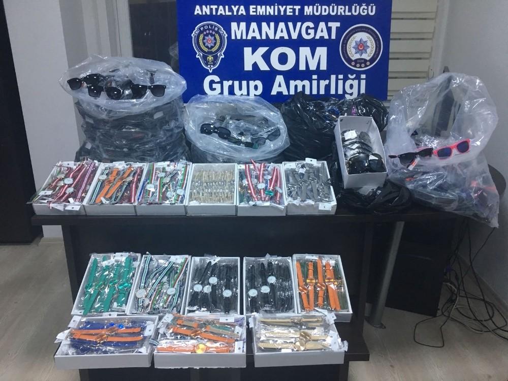 Manavgat'ta kaçakçılık operasyonları