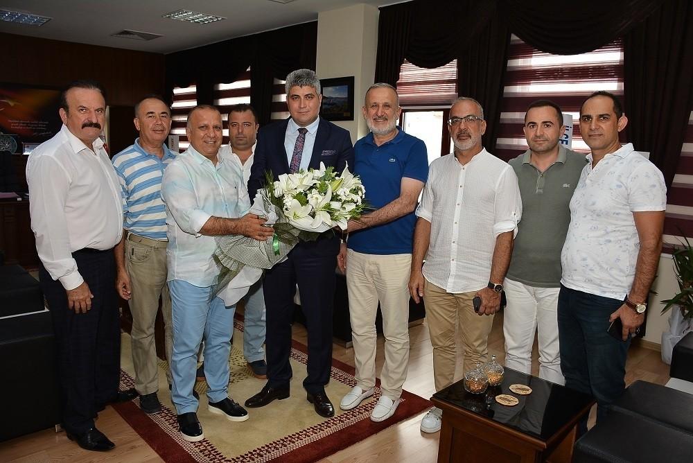 Matso Başkanı Boztaş'tan Başsavcı Yılmaz'a ziyaret