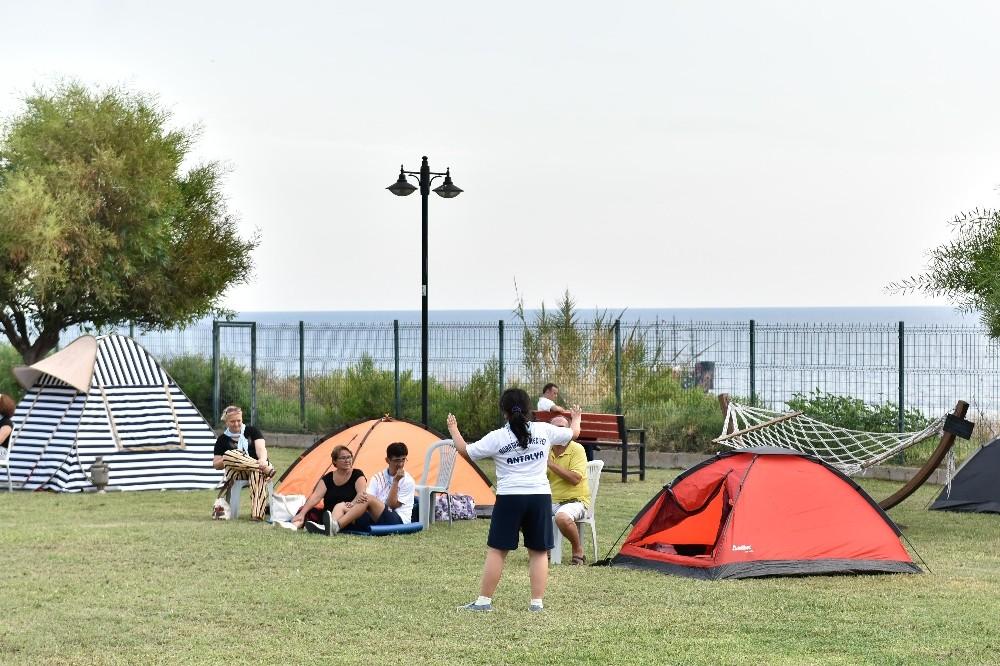 Özel çocukların kampı sona erdi