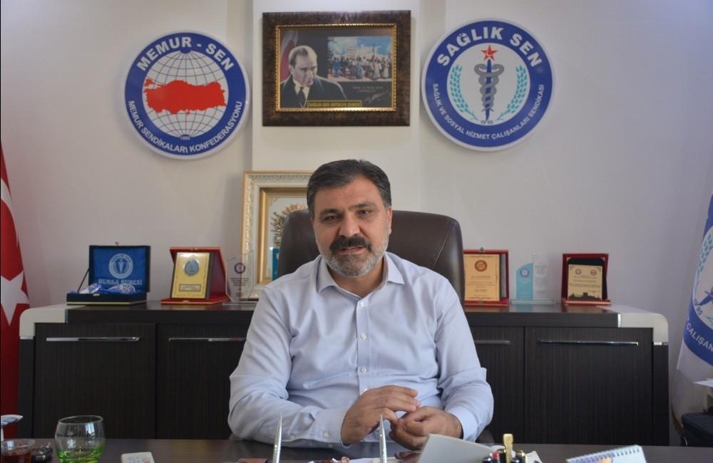 """Sağlık-Sen Antalya Şube Başkanı Kuluöztürk: """"Performansa olumlu yansıyacak"""""""