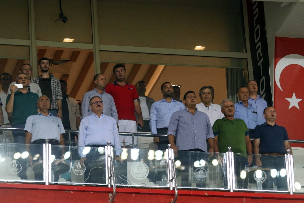 Spor Toto Süper Lig: Antalyaspor: 0- Çaykur Rize: 1 (İlk Yarı)