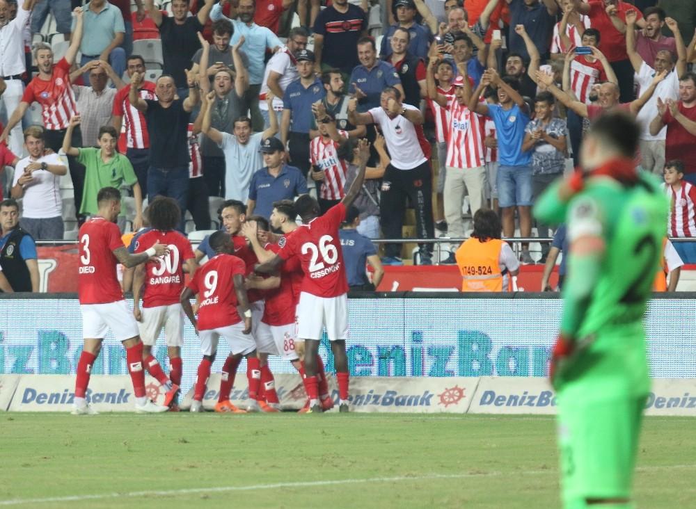 Spor Toto Süper Lig: Antalyaspor: 2 – Çaykur Rizespor: 1 (Maç sonucu)