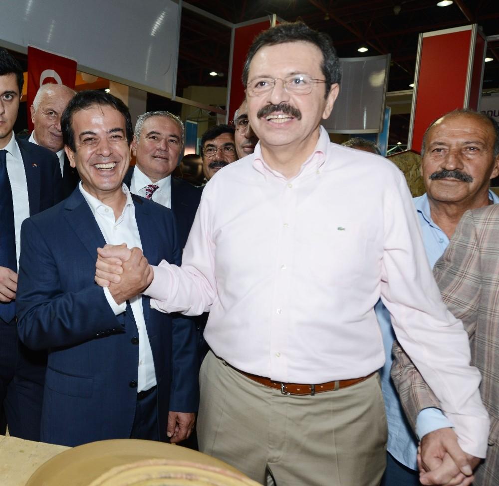 """TOBB Başkanı Hisarcıklıoğlu: """"YÖREX Türkiye'nin başarı hikayesidir"""""""