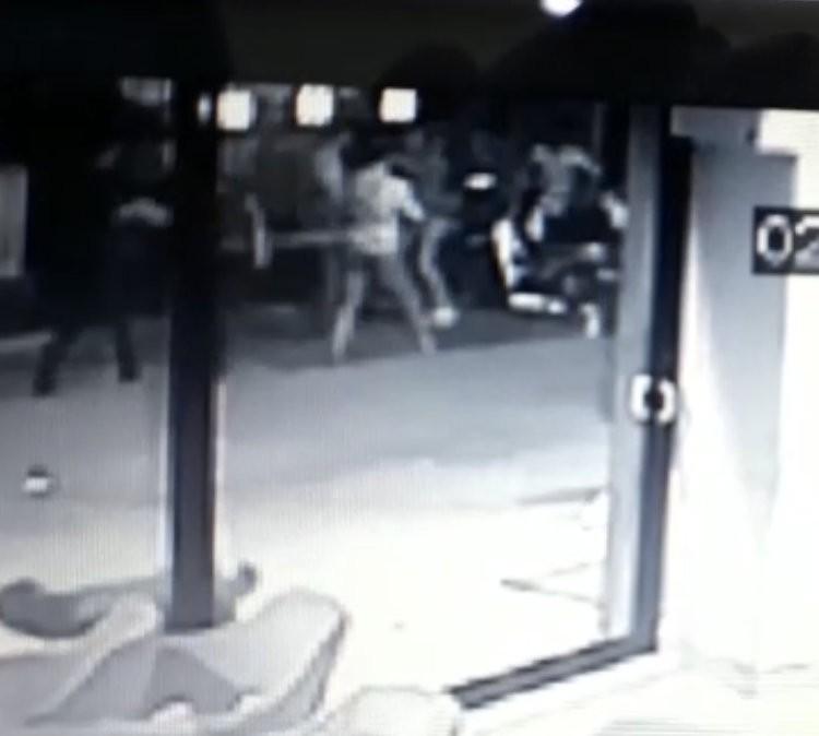 Üniversite öğrencisinin öldürüldüğü anlar güvenlik kamerasında