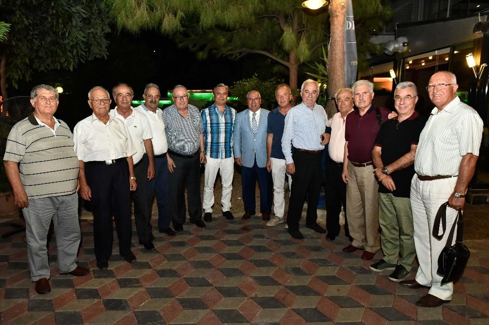 Uysal, CHP 1992 Antalya kurucuları ile buluştu